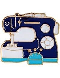 JINSH Home Máquina de Coser Broches con Forma de botón Accesorios de Ropa Insignias Encantadoras Creativas