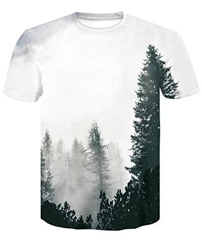 Lässiges, atmungsaktives T-Shirt Großes T-Shirt Herren Sommerjacke Poker Print Herren Kurzarm T-Shirt 3D T-Shirt (Farbe : #12, größe : S) Poker T-shirt Sweatshirt