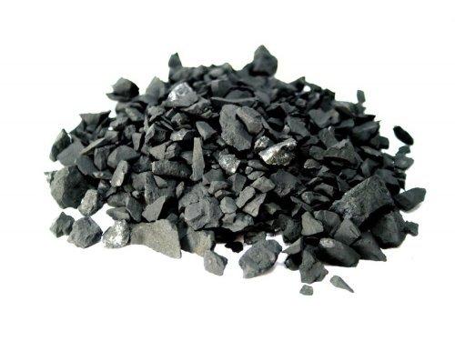 MyHomeLux Schungit Wassersteine Rohsteine 1-3cm Chips Wasseraufbereitung Energetisierung Shungite mit Anleitung QUALITÄTSGARANTIE! (1000)