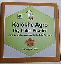 Kalokhe Agro Dry Dates Powder, 100 g, (No Additives, No Preservatives) Kharik Powder