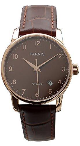 parnis-unisex-automatikuhr-3218-saphirglas-oe38mm-miyota-leder-armbanduhr-5bar-braun-vergoldet