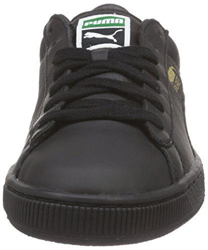 Puma Classic Lfs, Baskets Basses Mixte Adulte Negro - Noir (Black/Team Gold)