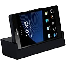 kwmobile Docking station magnético per Sony Xperia Z in negro