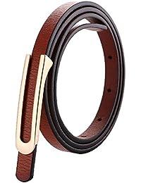 Cinturon de mujer Cinturón de mujer Cinturón de cuero de dos capas en forma  de U 79676e3a6d4f