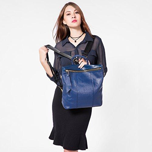 Zaino Borse Donna Borsa Tracolla Borsetta Donna Borse Grandi Borsa Da Viaggio Funzionale College Stile Marrone Blu
