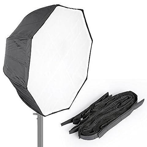 Neewer® Photo Studio 78,7cm/80cm octogone type de Parapluie Boîte à lumière Speedlite avec grille pour les portraits, photographie du produit et vidéo de Tir