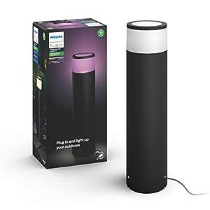 Philips Hue White and Color Ambiance LED Calla Basis - Set, für den Aussenbereich, dimmbar, bis zu 16 Millionen Farben, steuerbar via App, kompatibel mit Amazon Alexa (Echo, Echo Dot)