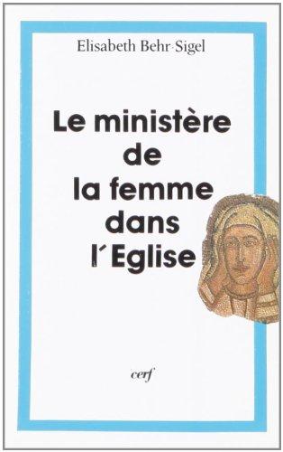 Le Ministre de la femme dans l'Eglise