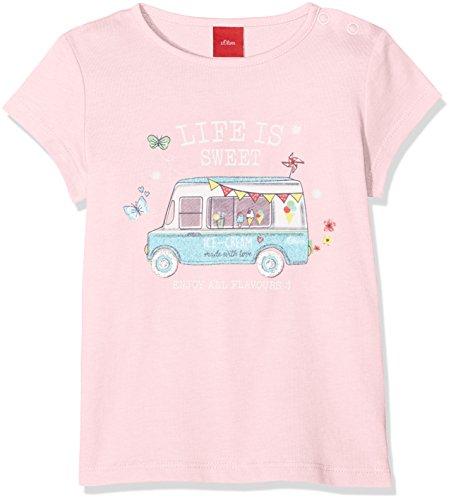 s.Oliver Baby-Mädchen T-Shirt 59.806.32.5211 Light Pink 4103, 92