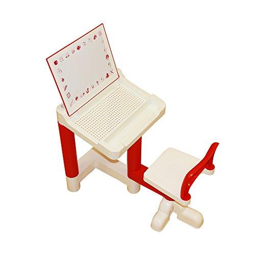 Liberty House Toys Multipurpose Holztisch & Chair Set, Holz, naturholz, 65 x 46.5 x 48.5 cm