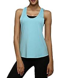 Top Donna Nuda Schiena it Abbigliamento Amazon T50Sqq