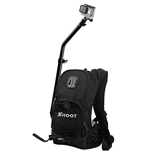 SHOOT Selfie Pro Custodia Accessori Kit Zainetto Backpack Guida Rapida per  L assemblaggio Sportiva Borsa 7c7f8504e8e