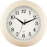 26cm New Cream Large Vintage Quartz Kitchen Home Bedroom Office Work Time Room Wall Clock