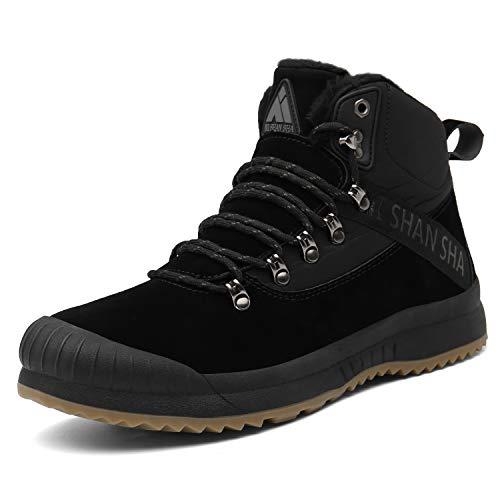 Botas de Nieve para Mujer Forro Caliente Antideslizante Hombre Zapatos Invierno Aire Libre Trekking...