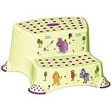 Niños OKT 10031262012 - taburete en dos etapas, por qué hipopótamos, colores: verde lima
