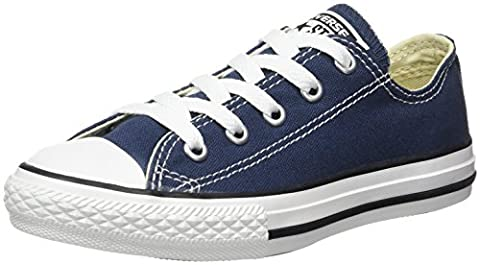 Converse Chuck Taylor All Star, Unisex-Kinder Sneakers, Blau (Navy), 27 EU