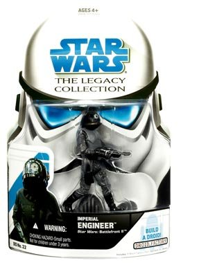 "Preisvergleich Produktbild Hasbro Imperial Engineer ""Battlefront II"" BD22 - Star Wars The Legacy Collection"