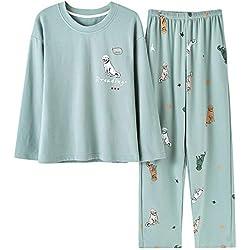 Pijama de algodón con perros.