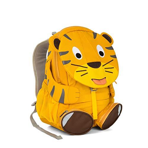 Affenzahn Kinder-Rucksack mit Brustgurt Theo Tiger für 3-5 Jährige Jungen und Mädchen im Kindergarten oder Kita der Große Freund