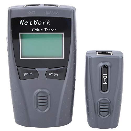 Netzwerktester, Netzwerkkabeltester, LCD-Display, tragbar, leicht und leicht zu transportieren, um die Kabeldurchgängigkeit schnell über ein automatisches Suchkabel zu testen