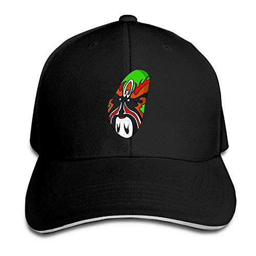 Ente Jugend T-shirt (SDFGSE Distortion Colorful Peking Opera Unisex Washed Low Profile Cotton Hat Baseball Cap)