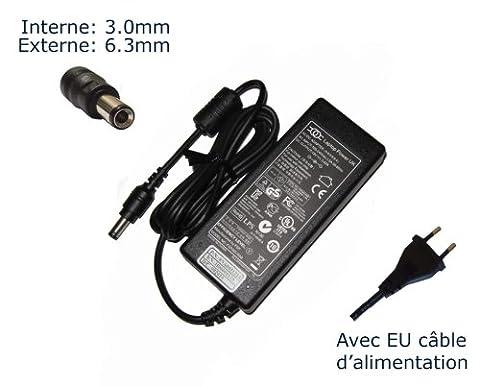 AC Adaptateur secteur pourToshiba Satellite 1800-A420 1800-A430 1800-A431 1800-HV9 1800-HVPchargeur