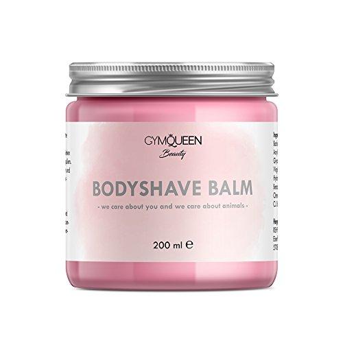 Beruhigen Gel Body Lotion (Bodyshave Balm | Feuchtigkeitscreme gegen Pickel und Rötungen für alle Hauttypen | After Shave Bodylotion nach dem Rasieren / IPL / waxing / sugaring oder epilieren | Naturkosmetik von GymQueen)