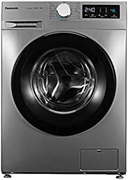 Panasonic 8Kg 1400 RPM Front Load Washing Machine, Silver - NA-148MG2, 1 Year Warranty