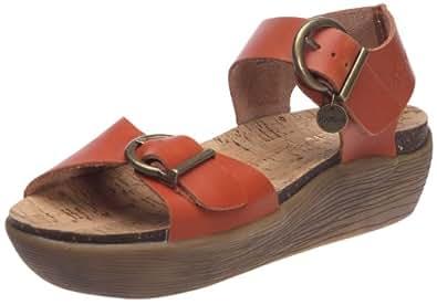 kickers kimo sandales femme orange 36 eu chaussures et sacs. Black Bedroom Furniture Sets. Home Design Ideas