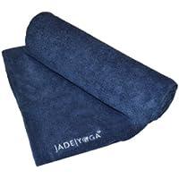 Microfibra de toalla de Yoga color: azul Marino