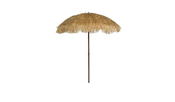 Parasol Pour Exterieur D 180 Cm Effet Paille Accessoires Decor Jardin Amazon Fr Jardin