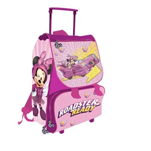 Carro para la escuela mochila carpeta Niñas personaje de Disney Minnie
