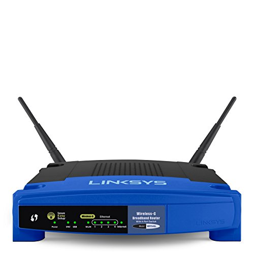 Linksys WRT54GL-DE Wireless-G Broadband Router - Linksys Antenne Kabel