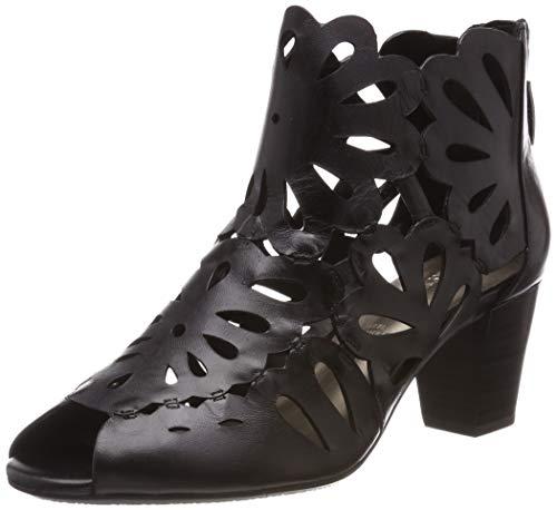 Gerry Weber Shoes Damen Lotta 17 Stiefeletten, Schwarz 100, 39 EU