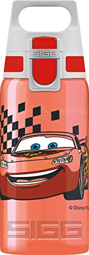 Sigg Unisex-Kinder BPA Frei Kinderflasche, Rot, 0.5 L