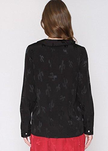 Pepaloves Damen Umstands-T-Shirt Romina Schwarz - Schwarz