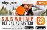 NEU! Skyroam Solis: Mobiler WLAN Hotspot & Power Bank // 4G LTE Tragbarer Router für Geschäftsreise und Urlaub // Globale Mobile Daten ohne Roaming // Im Internet ohne SIM-Karte in über 130 Ländern surfen // 5 Geräte gleichzeitig verbinden Test