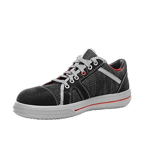 Elten Sensation Low 72106 S2 Chaussures de sécurité pour hommes, ESD, SRC, BGR 191 - Noir