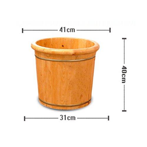 Preisvergleich Produktbild Fußbassin Von FONK Holzschaufel Fußbassin Fußwanne Wanne Fußbad Wanne Fußfass Holz, 41cm*40cm