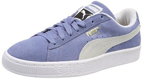 Puma Unisex-Erwachsene Suede Classic Sneaker, Blau (Infinity White), 39 EU
