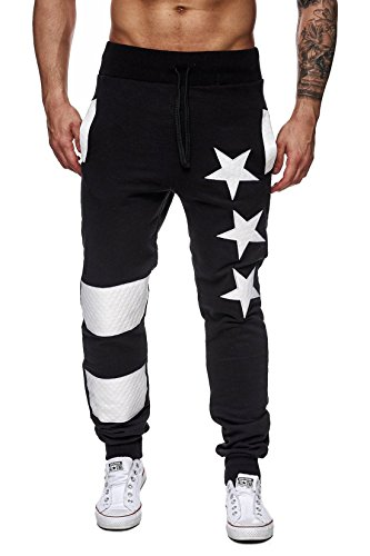 mens-casual-sweatpants-drawstring-jogger-pantsblackl