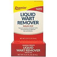 Premier wart remover liquid, maximum strength - 0.5 oz by PREMIER BRANDS OF AMERICA .