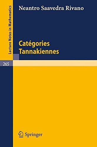 Catégories Tannakiennes