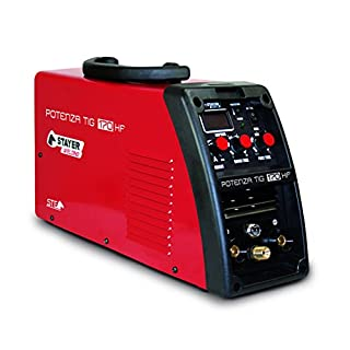 Stayer Welding – Power Tig 170 HF Inverter Tig Welding 170 (60%) to 4 mm 5 kg Kva5