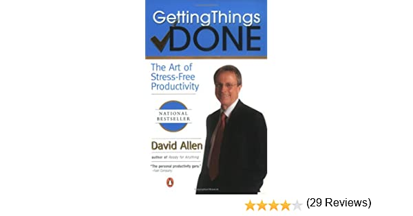 Amazon getting things done the art of stress free