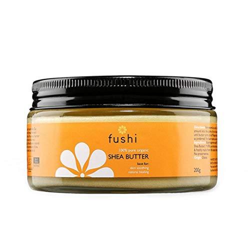 Fushi Organic Virgin Shea Butter 250g, RAW Unrefined Ghanaian - 100% Raw Shea Butter