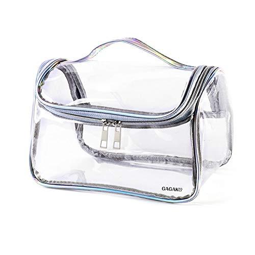 GAGAKU Bolsa Cosmético Transparente Bolsa Maquillaje