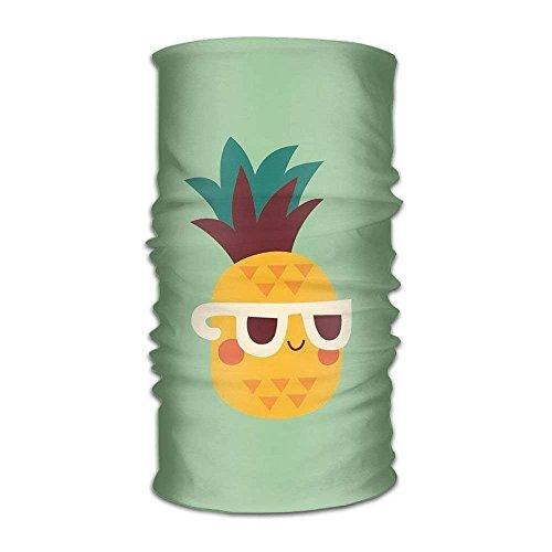 CHSUNHEY Stirnbänder Haarschmuck,Multi-use Cool Pineapple Headband Bandana Mask Sports Seamless Breathable Hair Band Turban UV Resistence Sport Headwear for Outdoor Sports -