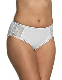 Ulla Popken Femme Grandes tailles Culotte gainante Bodyforming, lot de 2 711555