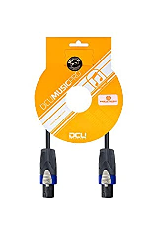 Dcu TECNOLOGIC–Jonction Speakon Standard Pro 2x 2.m connecteur 4pines-conector 4broches nEUTRIK 5m